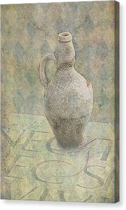 Old Pitcher Abstract Canvas Print by Garry Gay