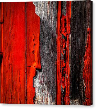 Old Red Barn One Canvas Print by Bob Orsillo