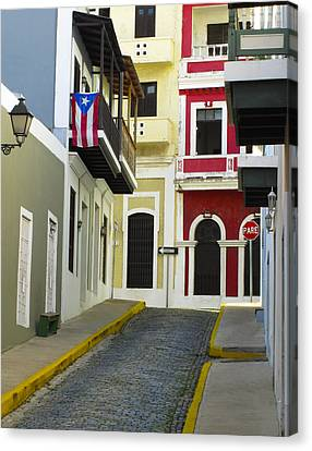 Old San Juan Canvas Print by Carter Jones