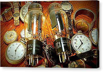 Old School Tube And Time Canvas Print by Danny Jones