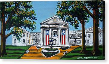 Old State House Canvas Print by Mitchell McClenney