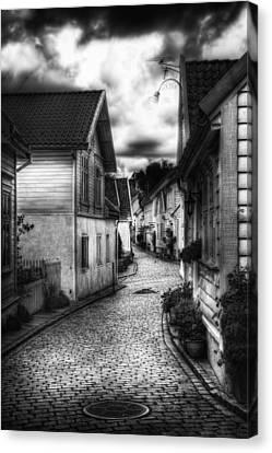 Old Stavanger Part II Canvas Print by Erik Brede