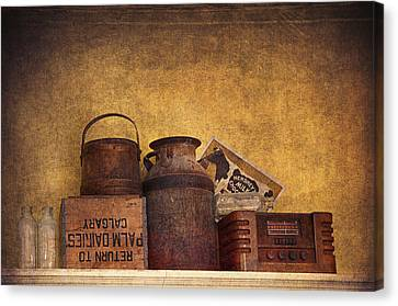 Old Things I Canvas Print by Maria Angelica Maira