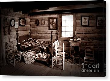 Old-time Living Canvas Print by Paul W Faust -  Impressions of Light