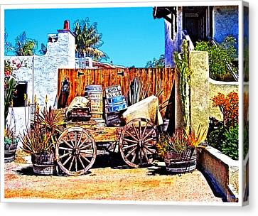 Old Town San Diego Canvas Print by Glenn McCarthy Art and Photography
