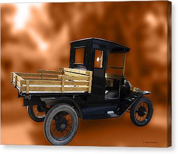 Old Truck Canvas Print by Jo-Anne Gazo-McKim