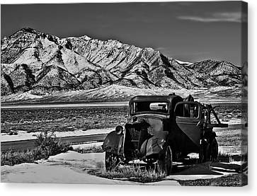 Old Truck Canvas Print by Robert Bales