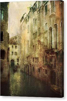 Old Venice Canvas Print by Julie Palencia