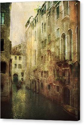Old Venice Canvas Print by Julie Palencia