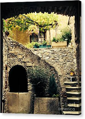 Old Village House Canvas Print by France  Art