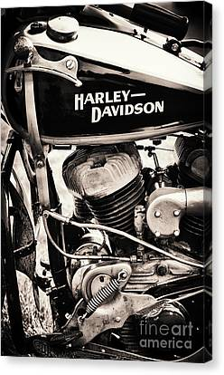 Old Vintage Hd Canvas Print by Tim Gainey
