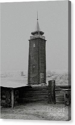 Old Watchtower Canvas Print by Evgeniy Lankin