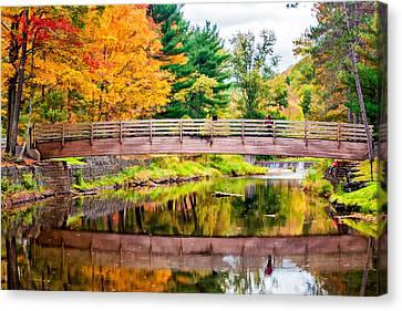 Ole Bull State Park Paint Canvas Print by Steve Harrington