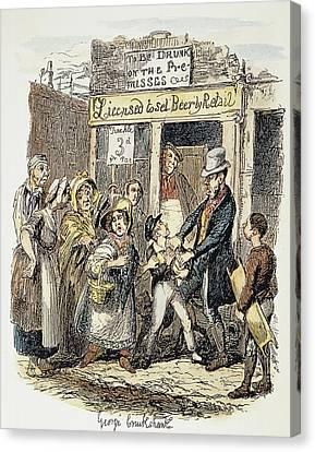 Oliver Twist, 1837-1838 Canvas Print by Granger