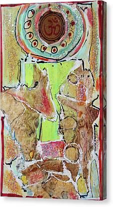 Om Canvas Print by Hari Thomas