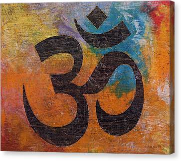 Om Canvas Print by Michael Creese