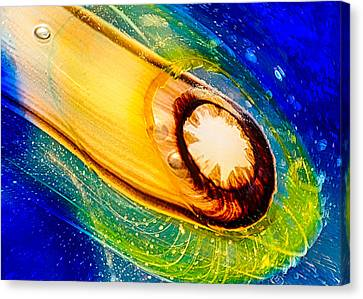 Omaste's Comet Canvas Print by Omaste Witkowski