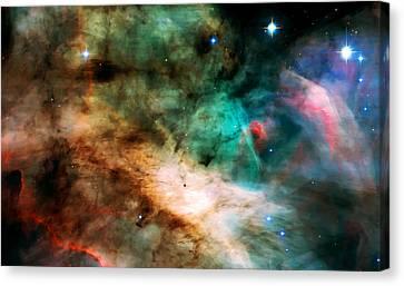 Omega Swan Nebula 2 Canvas Print by Jennifer Rondinelli Reilly - Fine Art Photography