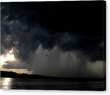 Ominous  Canvas Print by Donnie Freeman