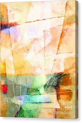 On A Light Day Canvas Print by Lutz Baar