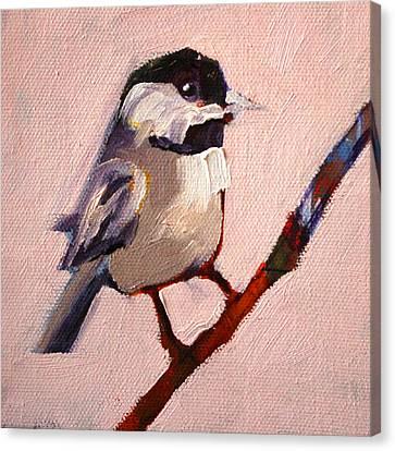 On A Limb Canvas Print by Nancy Merkle