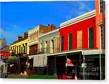 On Decatur Street Canvas Print by Alys Caviness-Gober