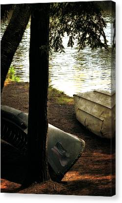 On The Island Canvas Print by Michelle Calkins