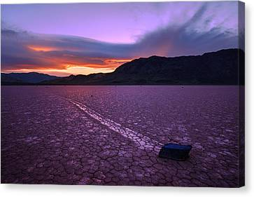 On The Playa Canvas Print by Chad Dutson