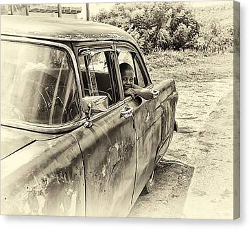 On The Road Canvas Print by Phil Callan Photography