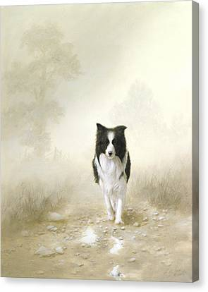 On The Way Home Canvas Print by John Silver