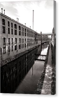Once Industrial Georgetown Canvas Print by Olivier Le Queinec