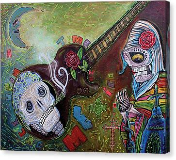 Once Upon A Time In Mexico Canvas Print by Laura Barbosa