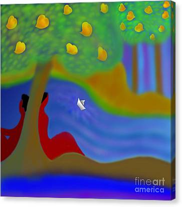Once Upon A Time Canvas Print by Latha Gokuldas Panicker