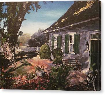 Onderdonk House Canvas Print by Victor SOTO