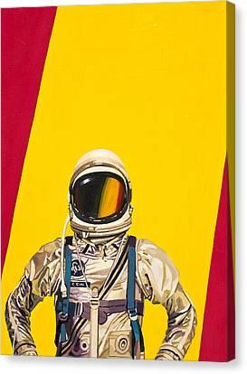 One Golden Arch Canvas Print by Scott Listfield
