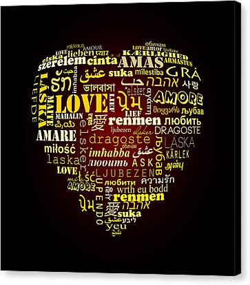One Love  Canvas Print by Mark Ashkenazi