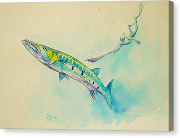 One More Turn  Canvas Print by Yusniel Santos