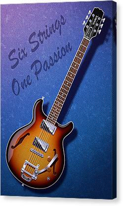 One Passion Canvas Print by WB Johnston