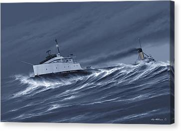 One Survivor Canvas Print by Captain Bud Robinson