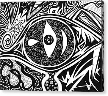 One Tear Canvas Print by Kerri White