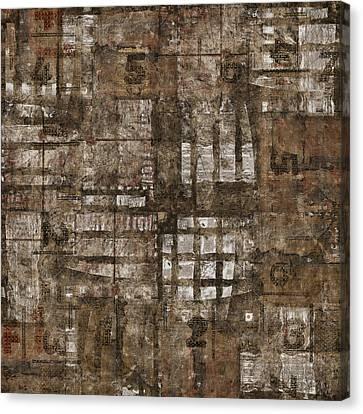 One Through Six Canvas Print by Carol Leigh