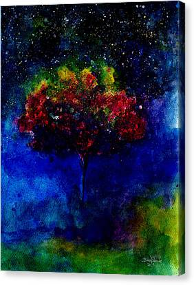 One Tree In The Universe Canvas Print by Isabel Salvador