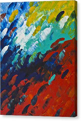 Only Till Eternity 1st Panel Canvas Print by Sharon Cummings