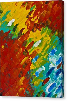 Only Till Eternity 2nd Panel Canvas Print by Sharon Cummings