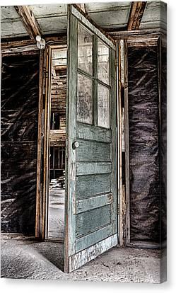 Open Door Canvas Print by Caitlyn  Grasso