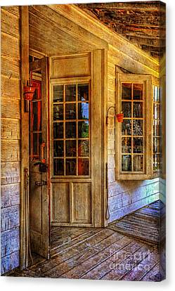 Open For Business Canvas Print by Lois Bryan