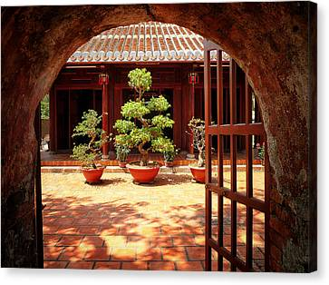 Open Gate Canvas Print by Kim Andelkovic
