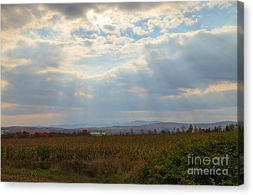 Opened Sky Canvas Print by Charles Kozierok