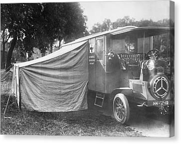 Operating Ambulance Canvas Print by Library Of Congress