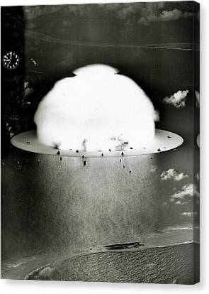 Operation Crossroads Canvas Print by Benjamin Yeager